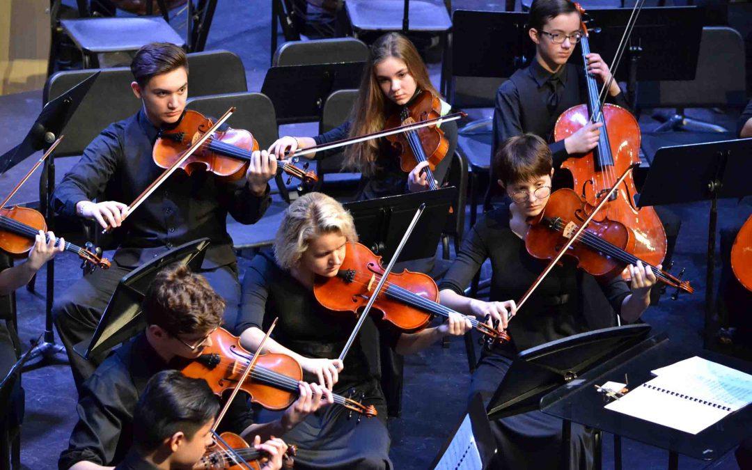 Strings & MS Choir Concert