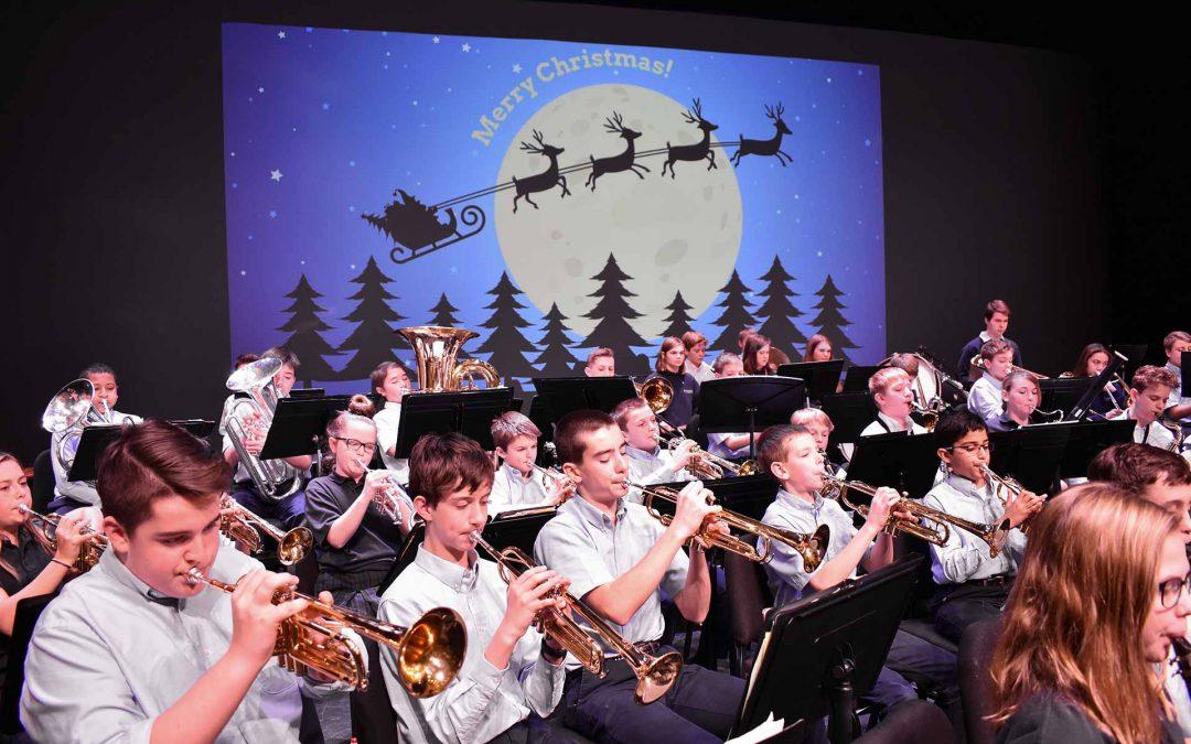 Strings & MS Choir Christmas Concert